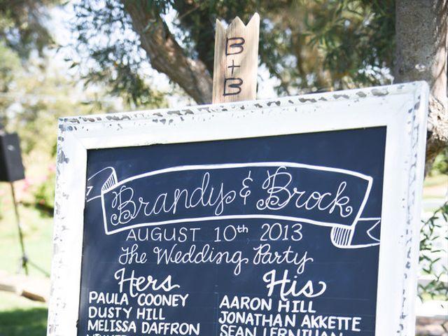 Brandy and Brock's Wedding in Rancho Santa Margarita, California 9