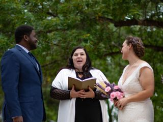 The wedding of Emily and De'Vante 3