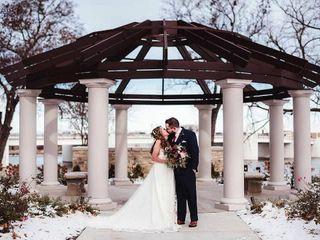 The wedding of Melissa and Matt