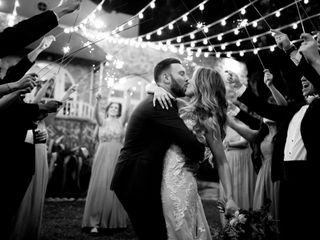 The wedding of Mark and Vanessa