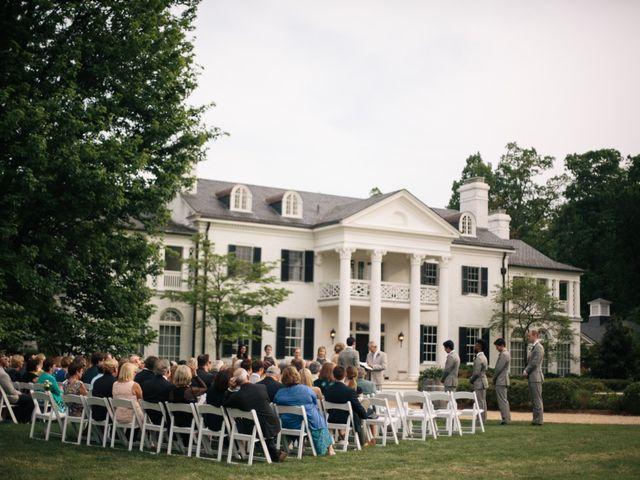 Aaron and Leigh's Wedding in Charlottesville, Virginia 30