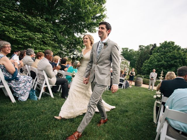 Aaron and Leigh's Wedding in Charlottesville, Virginia 32