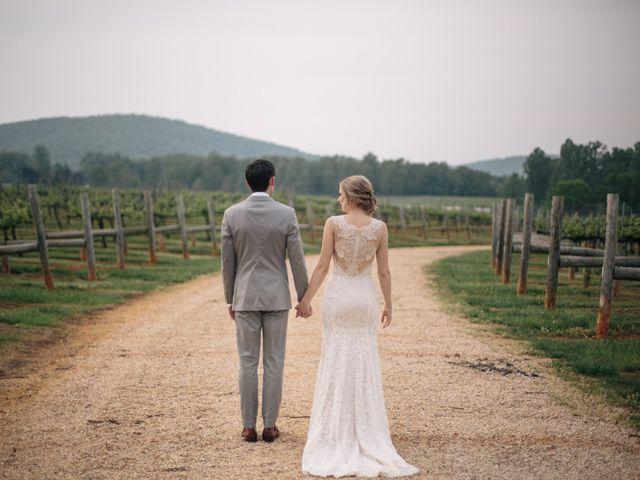 Aaron and Leigh's Wedding in Charlottesville, Virginia 35