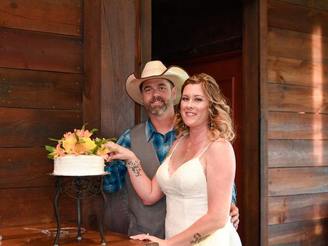 The wedding of Jenye and Jeff