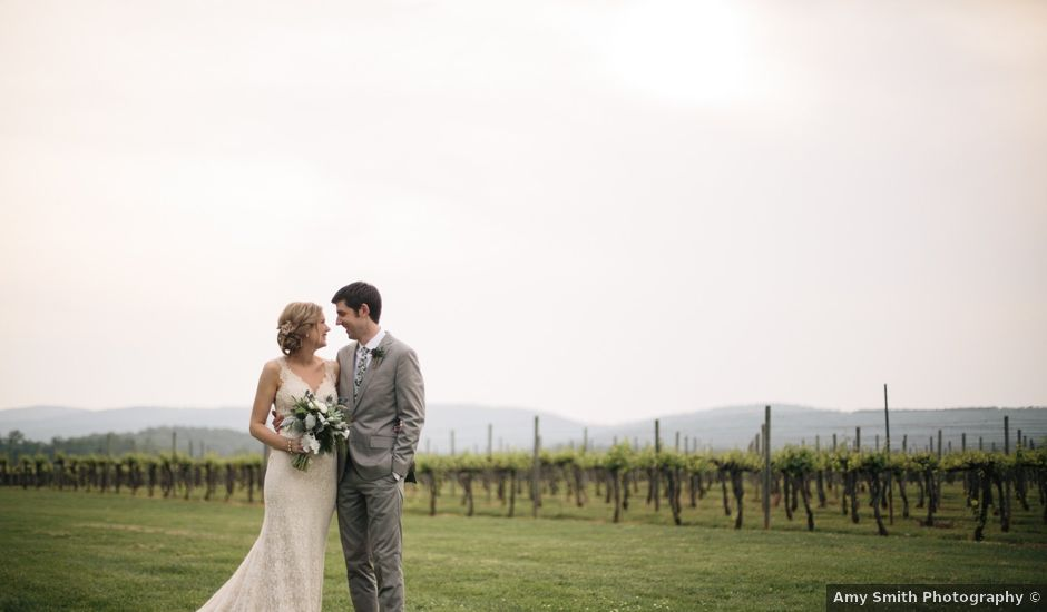 Aaron and Leigh's Wedding in Charlottesville, Virginia