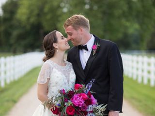 The wedding of Katie  and Travis