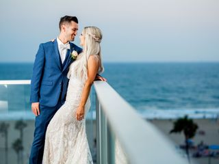 The wedding of Christien and Crystal