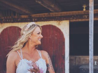 The wedding of Kayleigh and Travis 1