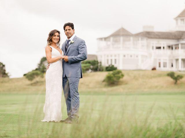 The wedding of Toni-Ann and Ruben