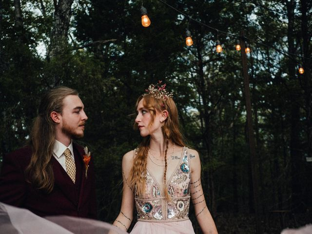 The wedding of Korah and Bryce Jones
