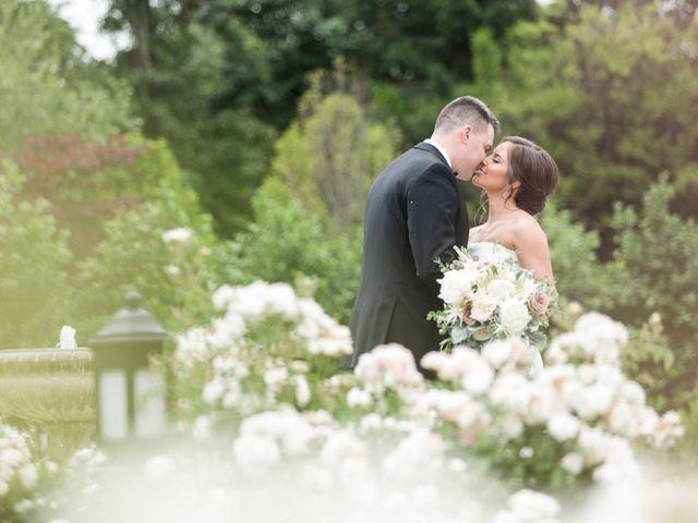 The wedding of Christina and Matt