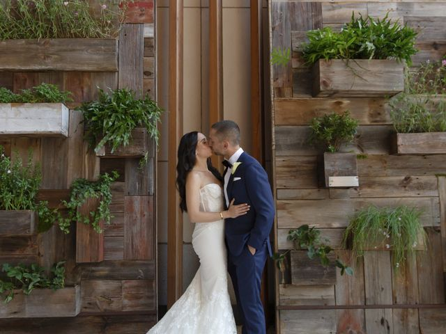 The wedding of Jaclyn and Josh