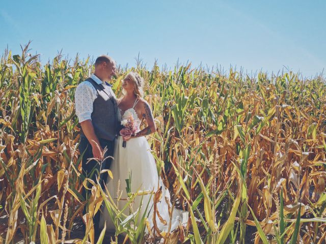 The wedding of Kayleigh and Travis