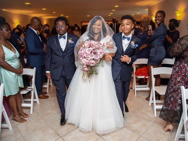 Keisha and Kyle's Wedding in Atlanta, Georgia 34