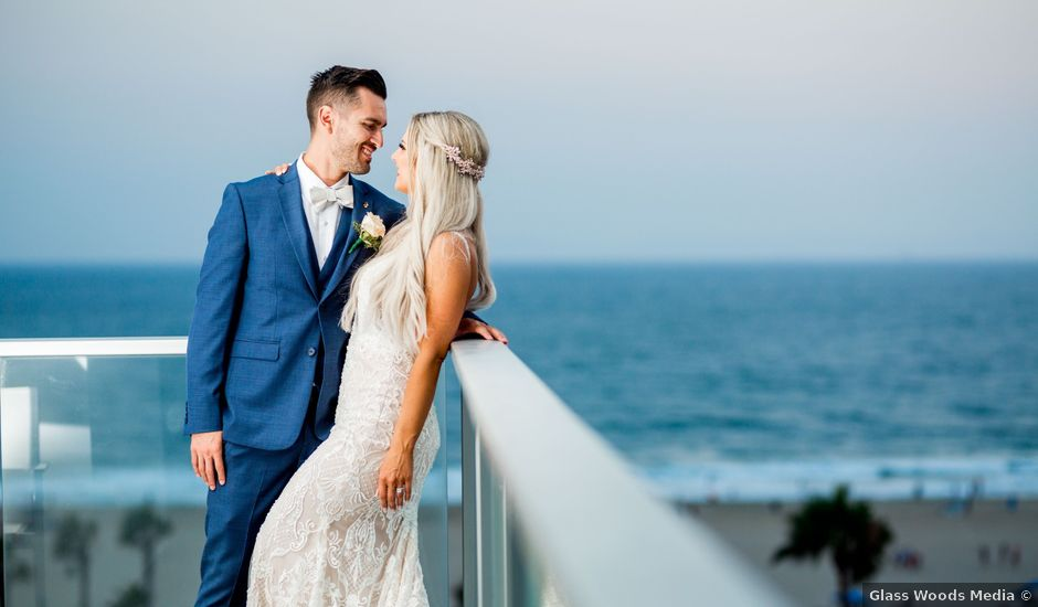 Crystal and Christien's Wedding in Huntington Beach, California