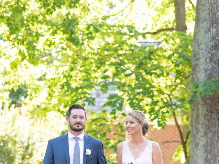 The wedding of Greg and Caroline