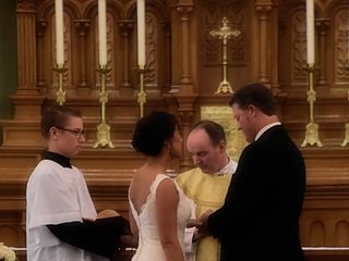 The wedding of Marla and Ron 2