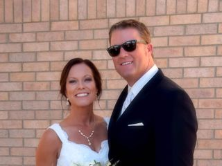 The wedding of Marla and Ron