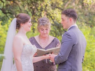 The wedding of Lindsay and Joel 1