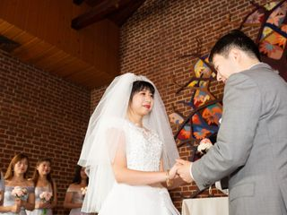 The wedding of Di Wang and Weilin 2