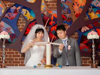 The wedding of Di Wang and Weilin