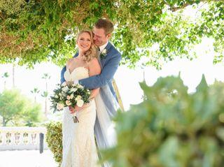 The wedding of Katy and Adam