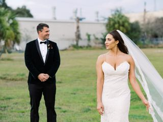 The wedding of Courtney and Joseph