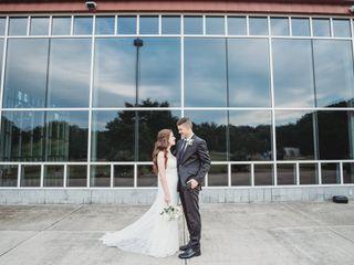 The wedding of Savannah and Teddy