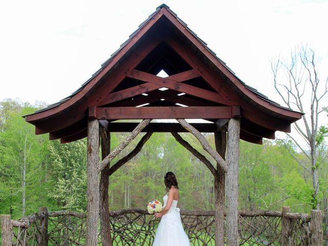 Cody and Amanda's Wedding in Waynesville, North Carolina 13