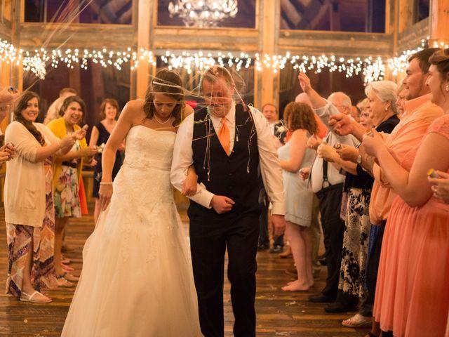 Cody and Amanda's Wedding in Waynesville, North Carolina 16