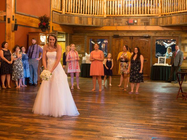 Cody and Amanda's Wedding in Waynesville, North Carolina 17