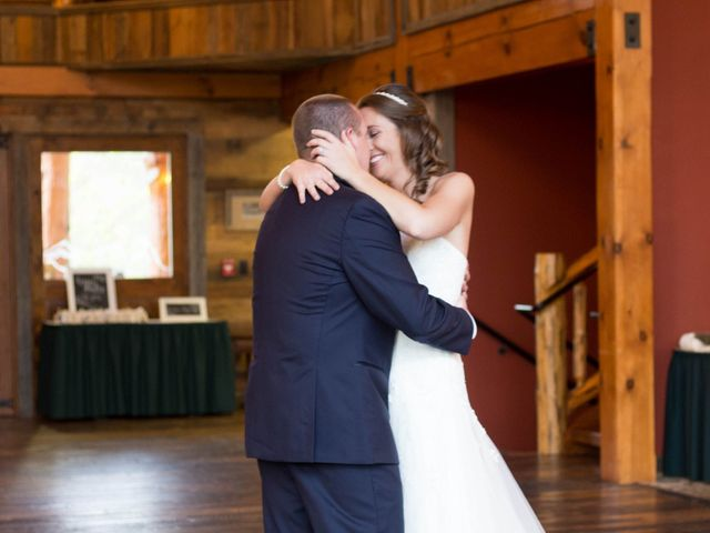 Cody and Amanda's Wedding in Waynesville, North Carolina 20