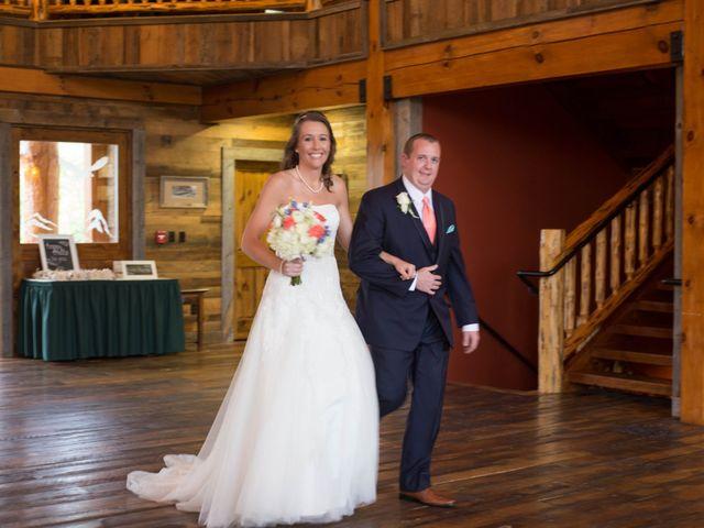 Cody and Amanda's Wedding in Waynesville, North Carolina 21