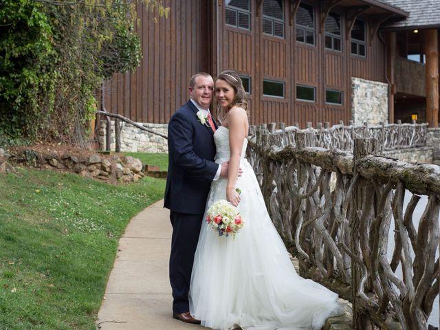 The wedding of Amanda and Cody