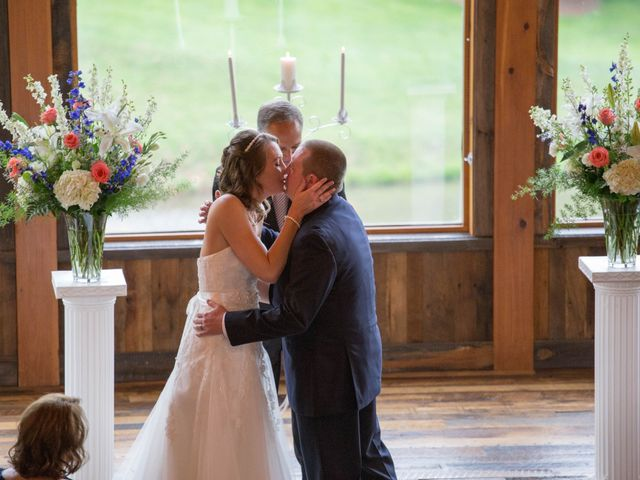 Cody and Amanda's Wedding in Waynesville, North Carolina 27