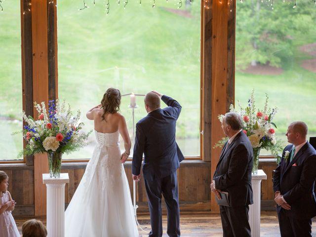 Cody and Amanda's Wedding in Waynesville, North Carolina 28