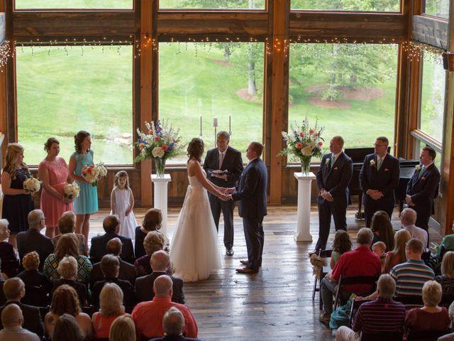 Cody and Amanda's Wedding in Waynesville, North Carolina 29