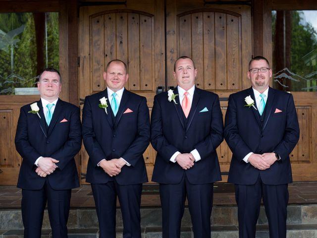 Cody and Amanda's Wedding in Waynesville, North Carolina 32