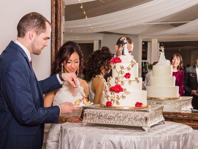 The wedding of Daniel and Stephanie