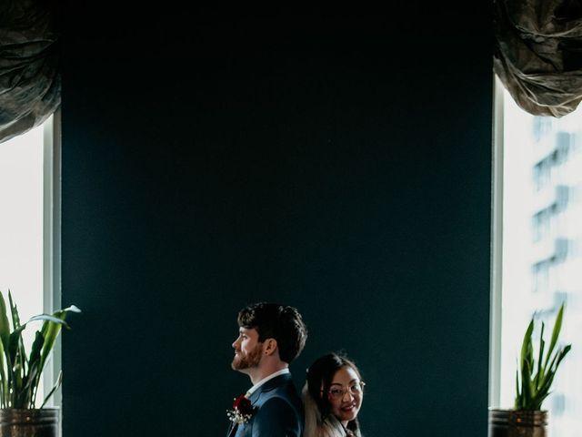 Justin and Meili's Wedding in Portland, Oregon 6