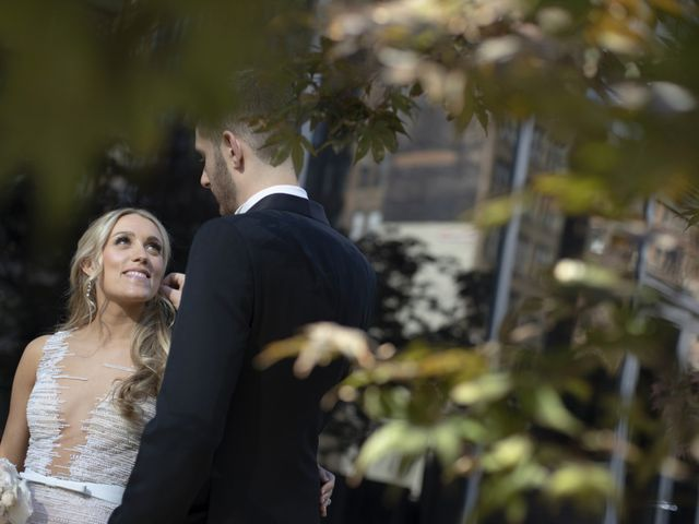 Josh and Becca's Wedding in New York, New York 46