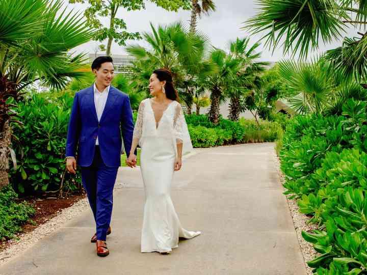 The wedding of Sarah and Tony