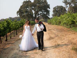 The wedding of Ali and Ryan
