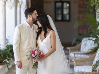 The wedding of Ashley and Ben