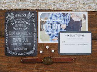 The wedding of Meg and Jonathan 1