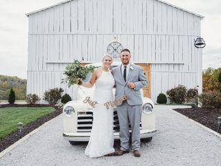 The wedding of Meg and Jonathan