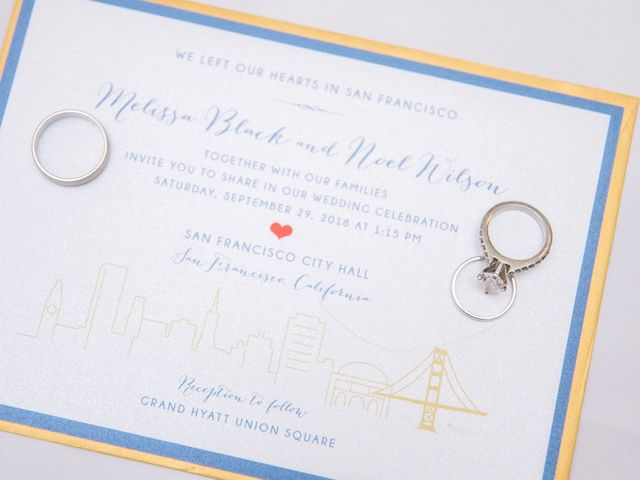 Noel and Melissa's Wedding in San Francisco, California 5