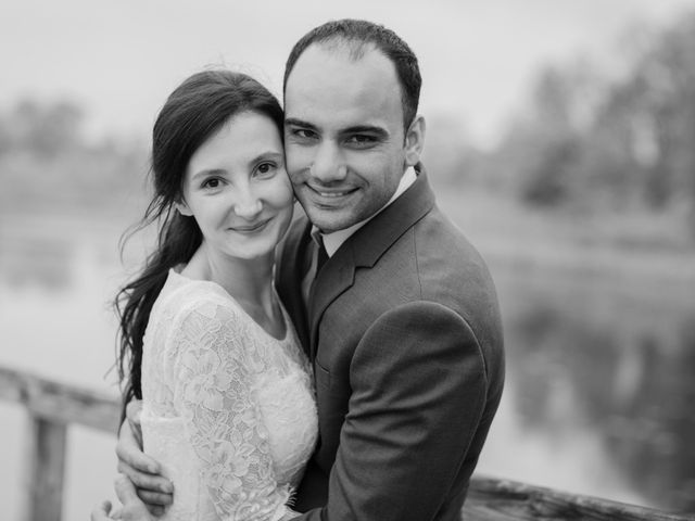 The wedding of Evelyn  and Mircea