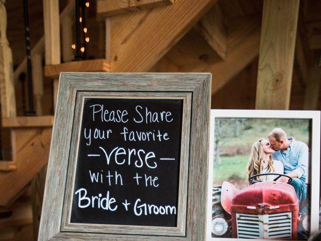 Heath and Amanda's Wedding in Greenback, Tennessee 8