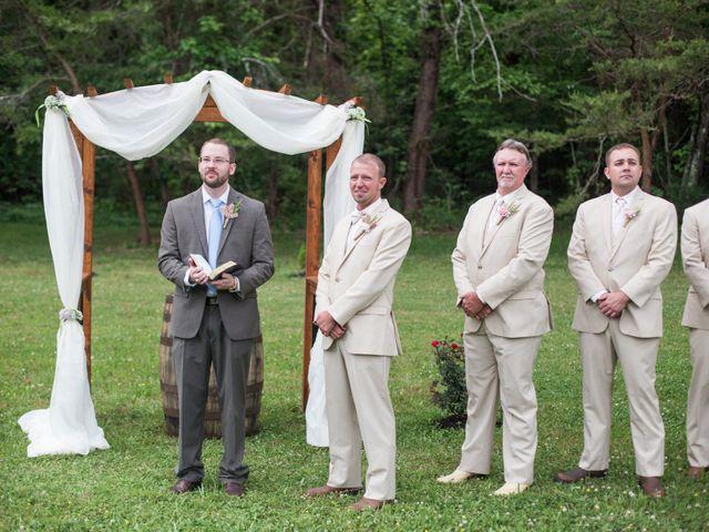 Heath and Amanda's Wedding in Greenback, Tennessee 16